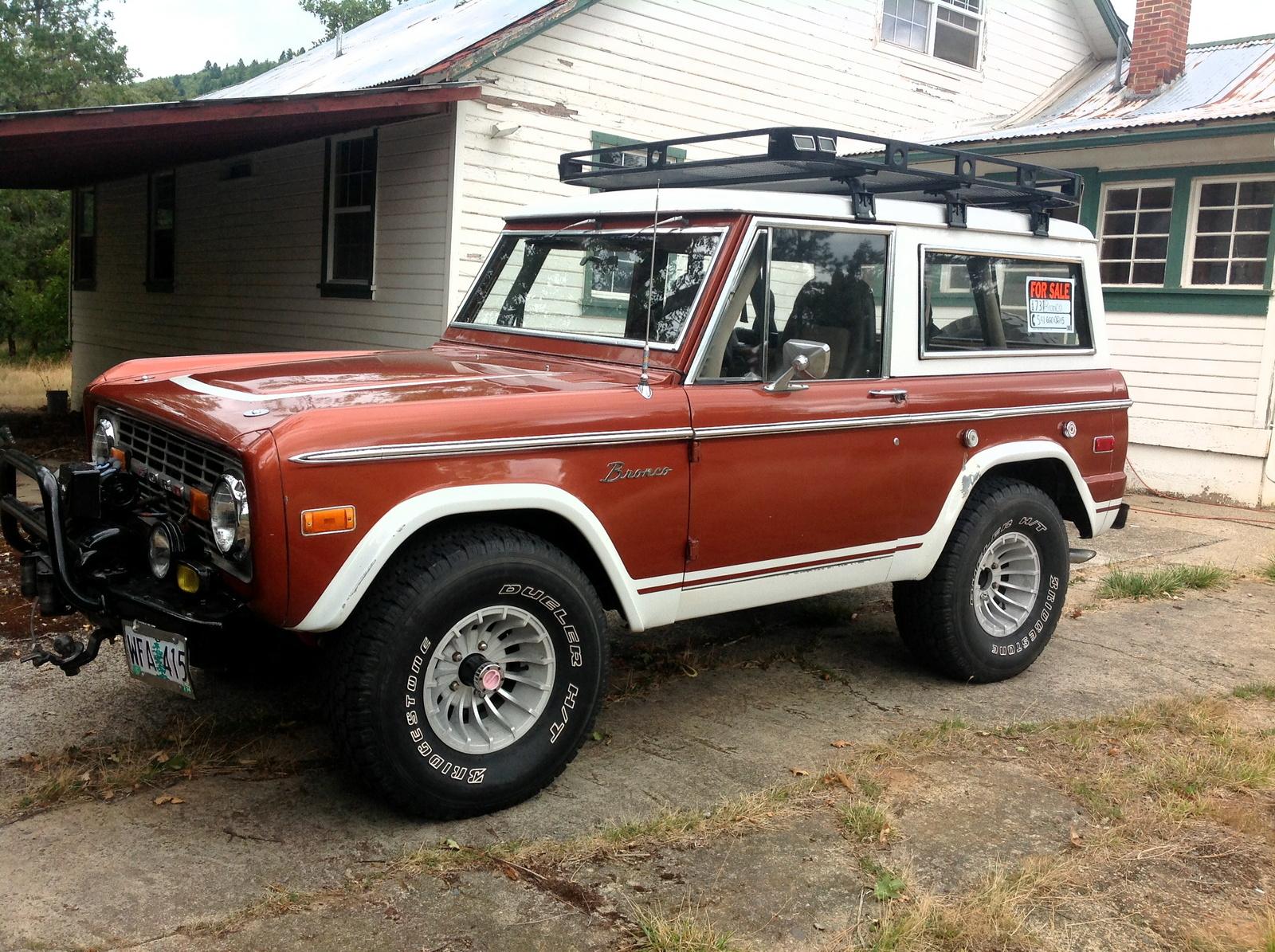 1973 Ford Bronco - Pictures - CarGurus
