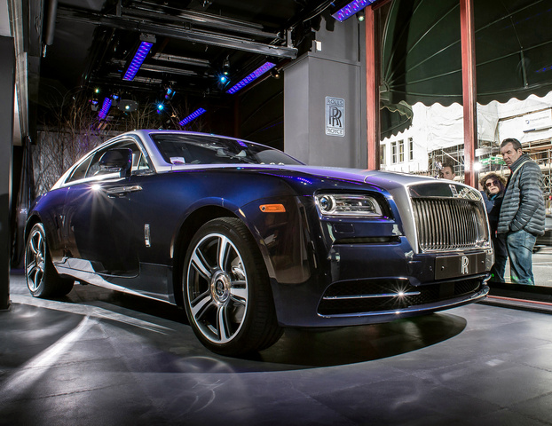 2014 Rolls-Royce Wraith, Front-quarter view, exterior, manufacturer, gallery_worthy