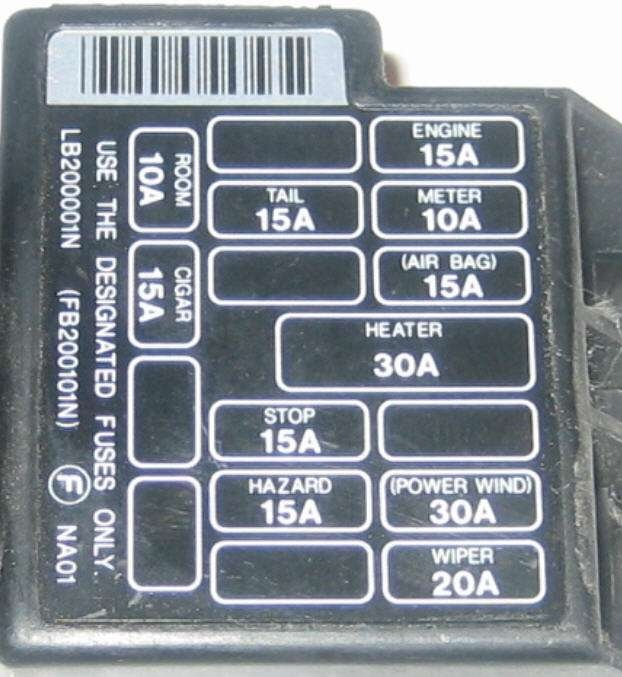 Cannot Find The Interior Fusebox For A 1993 Na I Have Looked Everywhere Any Ideas: 2000 Mazda Miata Interior Fuse Box Diagram At Aslink.org