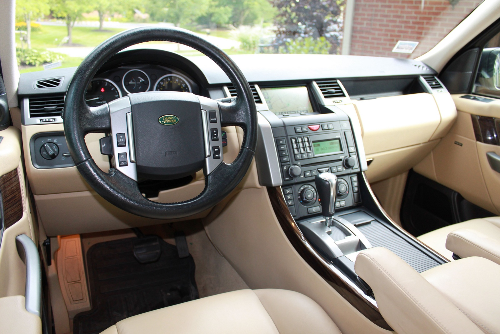2008 Land Rover Range Rover Sport Interior Pictures