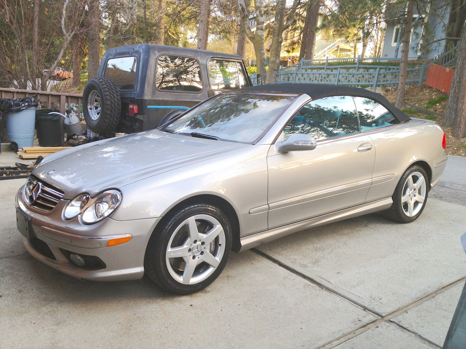 Mercedes benz clk class questions i have a clk500 cabrio for Mercedes benz clk 500