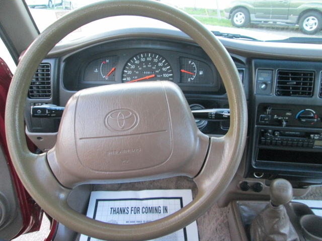 Toyota Tacoma Pic X on Toyota 4runner V6 1995 Interior