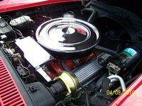Picture of 1971 Chevrolet Corvette Coupe, engine