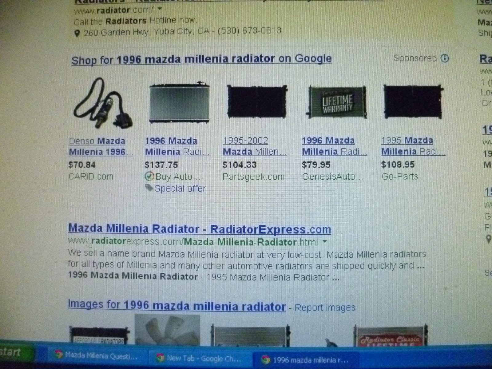 Mazda Millenia Questions - I replace my radiator hose and my 1996 ...