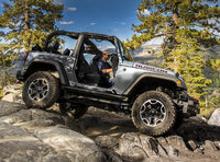 2014 Jeep Wrangler, Profile view, manufacturer, exterior
