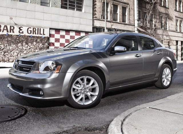 2014 Dodge Avenger, Front-quarter view, exterior, manufacturer, gallery_worthy