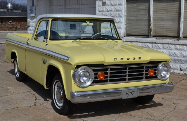 1967 Dodge D-Series, 1967 Dodge D-100. 318 cu. in. V8, 3 sp. manual.  , exterior, gallery_worthy