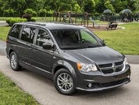 2014 Dodge Grand Caravan, Front-quarter view from above, exterior, manufacturer, gallery_worthy