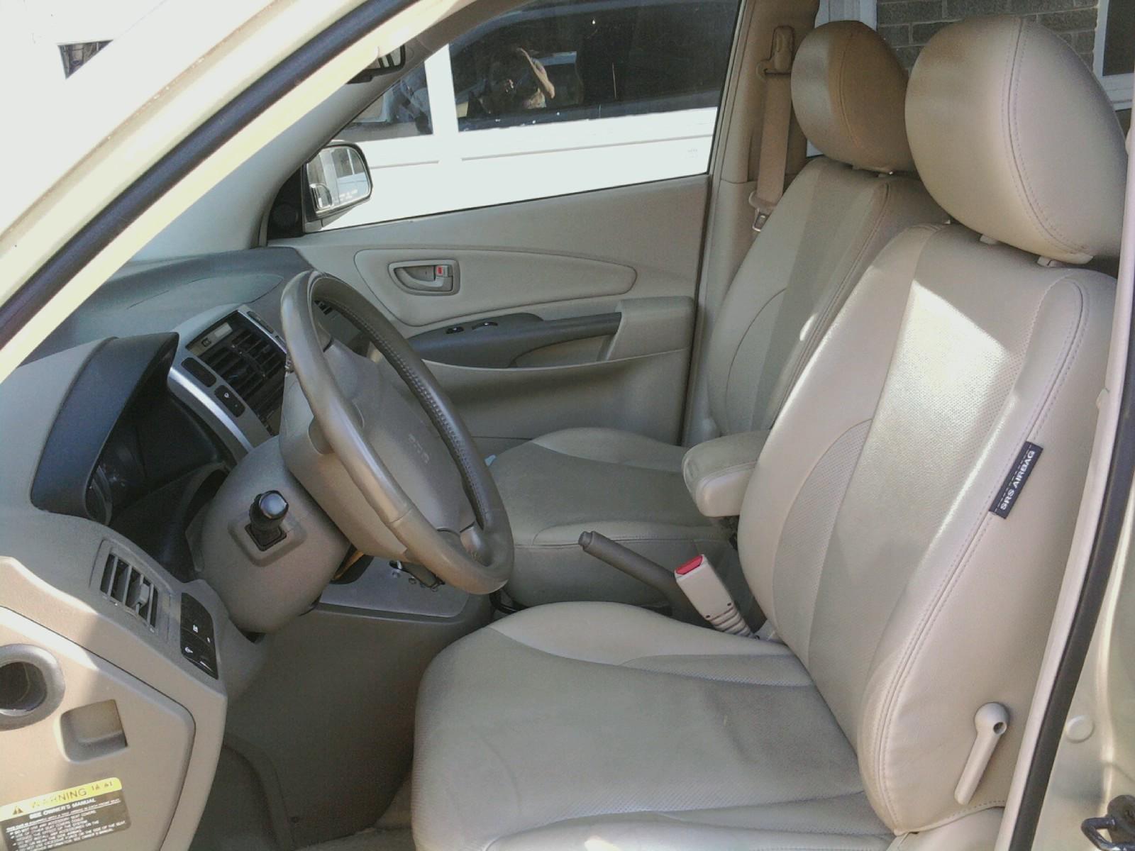 2007 Hyundai Tucson Interior Pictures Cargurus