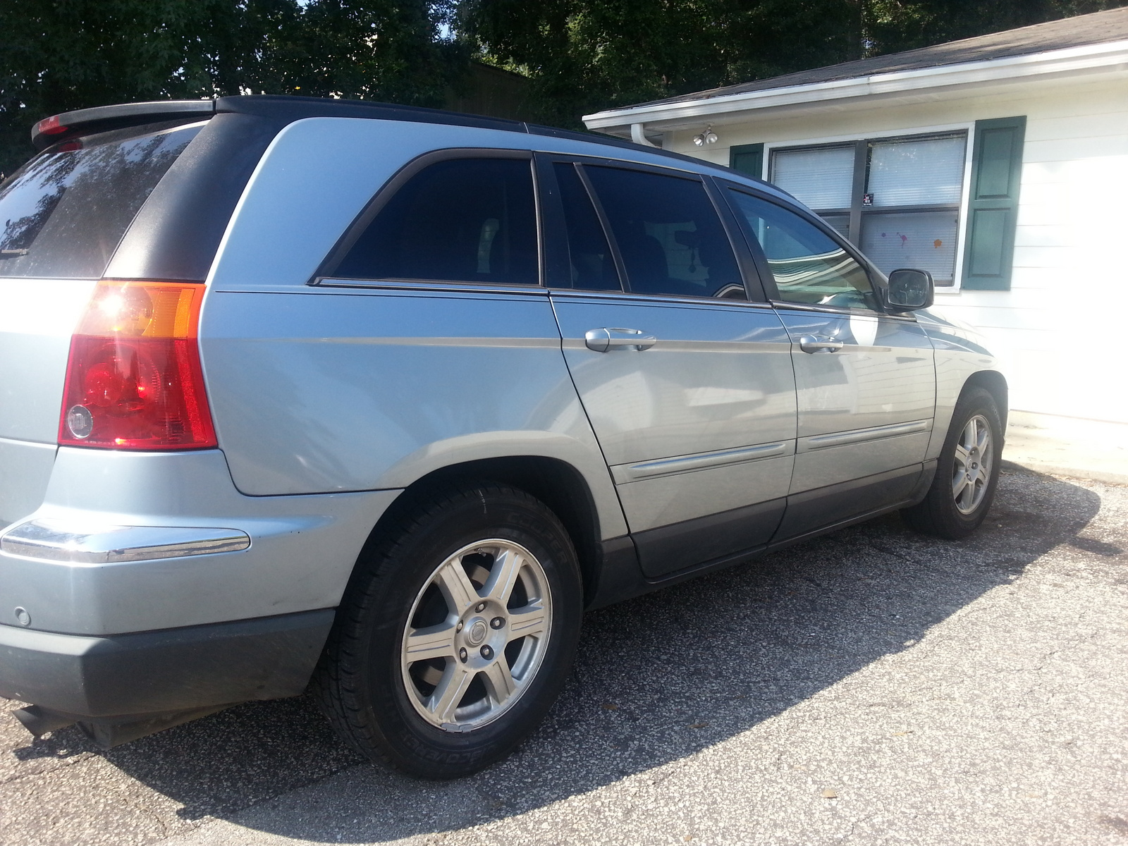 picture of 2006 chrysler pacifica touring exterior. Cars Review. Best American Auto & Cars Review