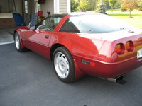 1992 Chevrolet Corvette Coupe, Picture of 1992 Chevrolet Corvette Base, exterior