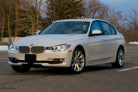 2014 BMW 3 Series, Front-quarter view, exterior, manufacturer