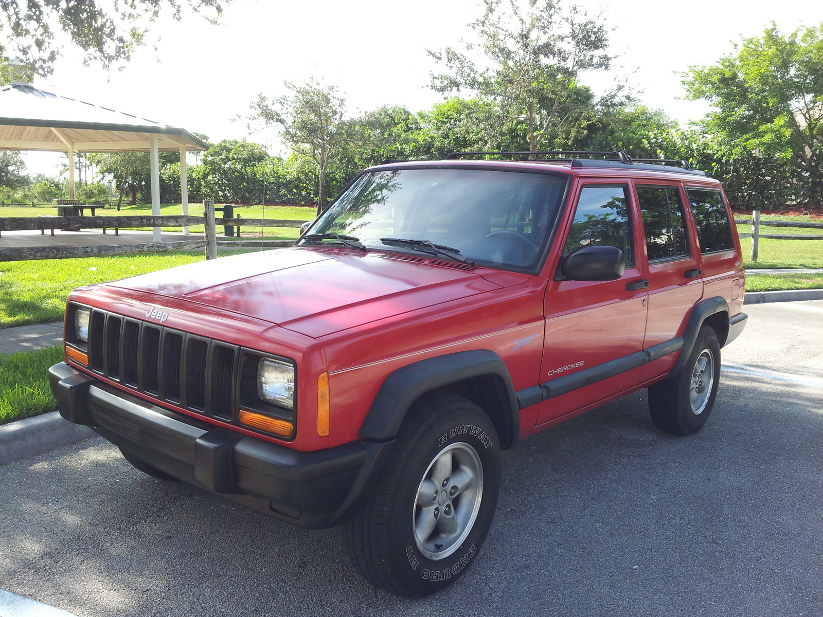 picture of 1998 jeep cherokee 4 dr sport 4wd suv exterior. Cars Review. Best American Auto & Cars Review