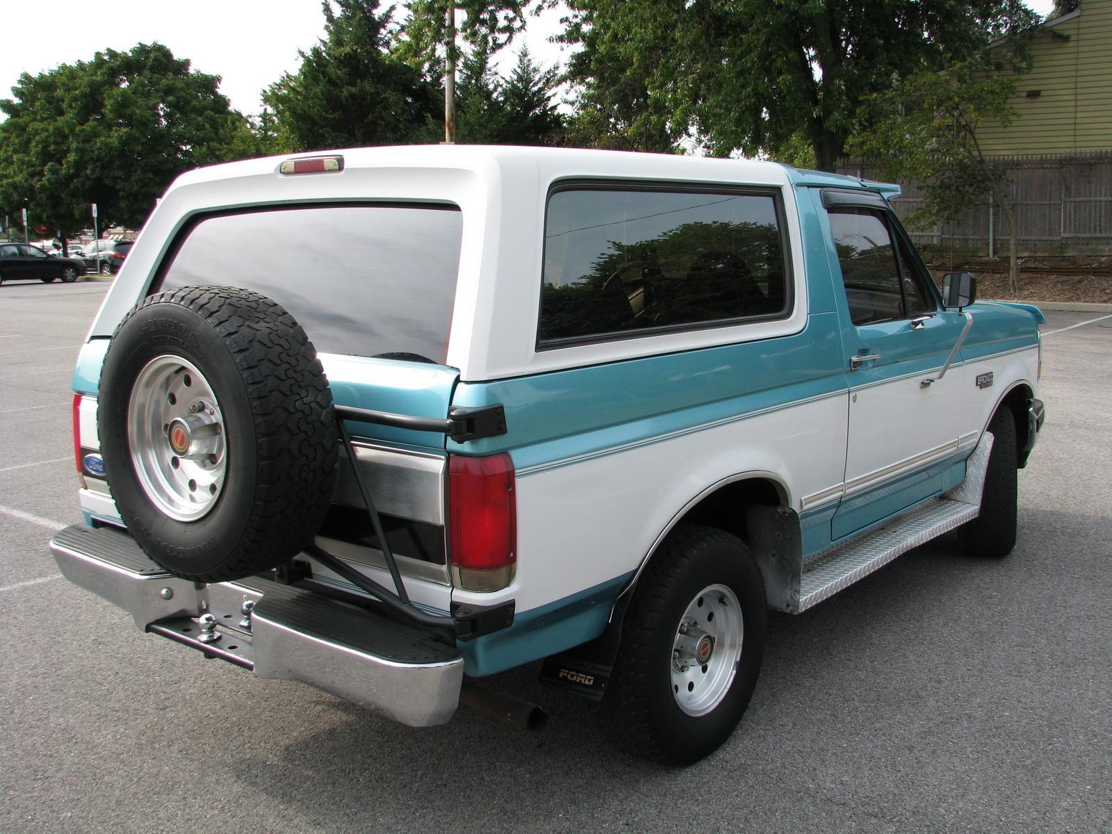 1994 Ford Bronco Xlt Reviews