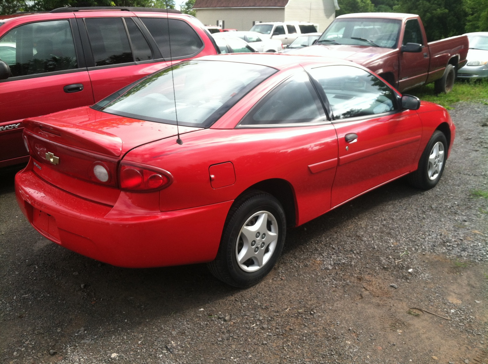 picture of 2005 chevrolet cavalier base coupe exterior. Cars Review. Best American Auto & Cars Review