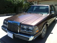 Picture of 1987 Lincoln Continental Givenchy FWD, exterior, gallery_worthy