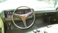 1971 Plymouth Fury III instrument panel, interior