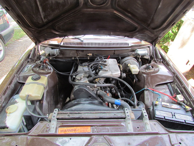 Picture of 1979 Volvo 240, engine