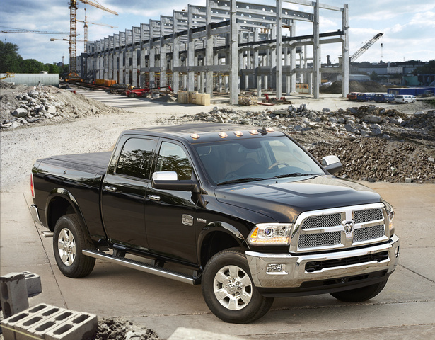 2014 Ram 2500, Front-quarter view, exterior, manufacturer, gallery_worthy