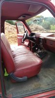 1987 Ford F-150 XL Standard Cab 4WD SB picture, interior