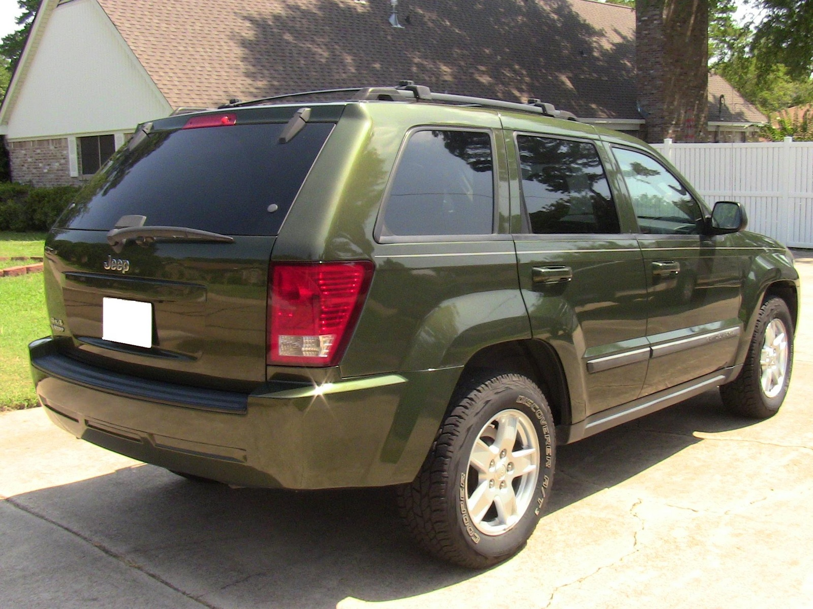 picture of 2007 jeep grand cherokee laredo 4wd exterior. Black Bedroom Furniture Sets. Home Design Ideas