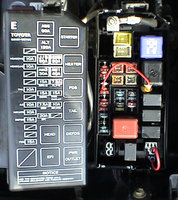 toyota tacoma questions i tried to hook up my trailer to my 06 1992 Toyota Camry Fuse Box 3 people found this helpful