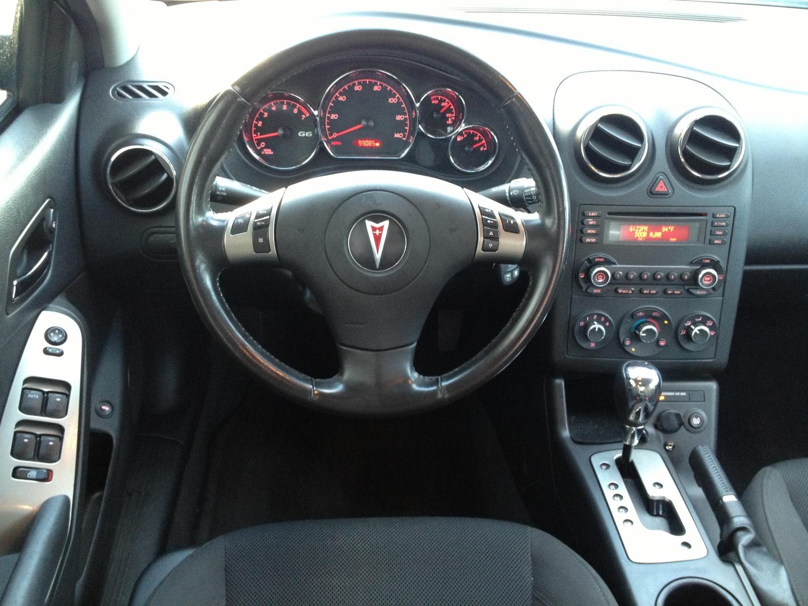 2007 Pontiac G6 Interior Pictures Cargurus