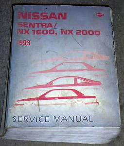nissan nx questions can i get help with a copy of a 93 nissan nx rh cargurus com nissan sentra repair manual nissan sentra service manual