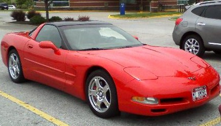 1997 Chevrolet Corvette Coupe, 1997 Chevrolet Corvette Base picture, exterior