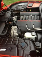 Picture of 1998 Chevrolet Corvette Convertible, engine