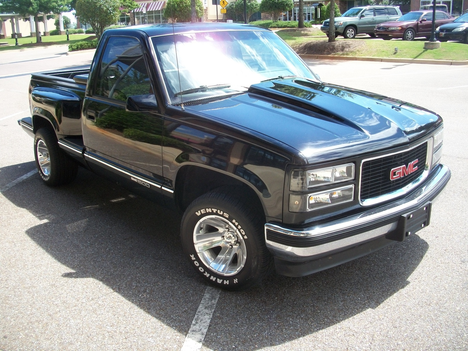 Photos gmc sierra 1500 v 6 stepside 1995 gmc sierra 1500 completed