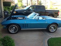 Picture of 1965 Chevrolet Corvette Convertible Roadster, exterior, engine