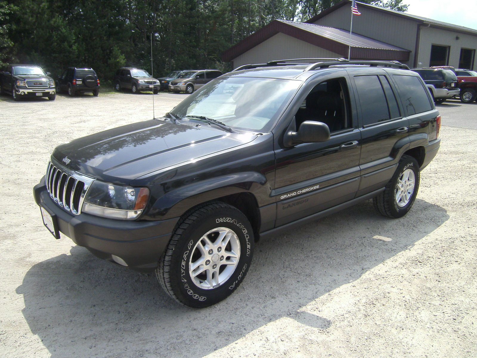 picture of 2003 jeep grand cherokee laredo 4wd exterior. Cars Review. Best American Auto & Cars Review