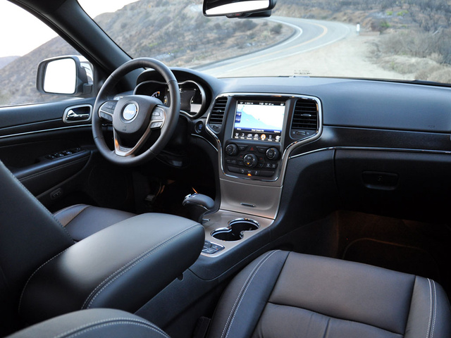 2014 Jeep Grand Cherokee, Dashboard, interior, gallery_worthy
