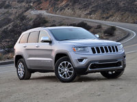 2014 Jeep Grand Cherokee, Front-quarter view, lead_in, exterior