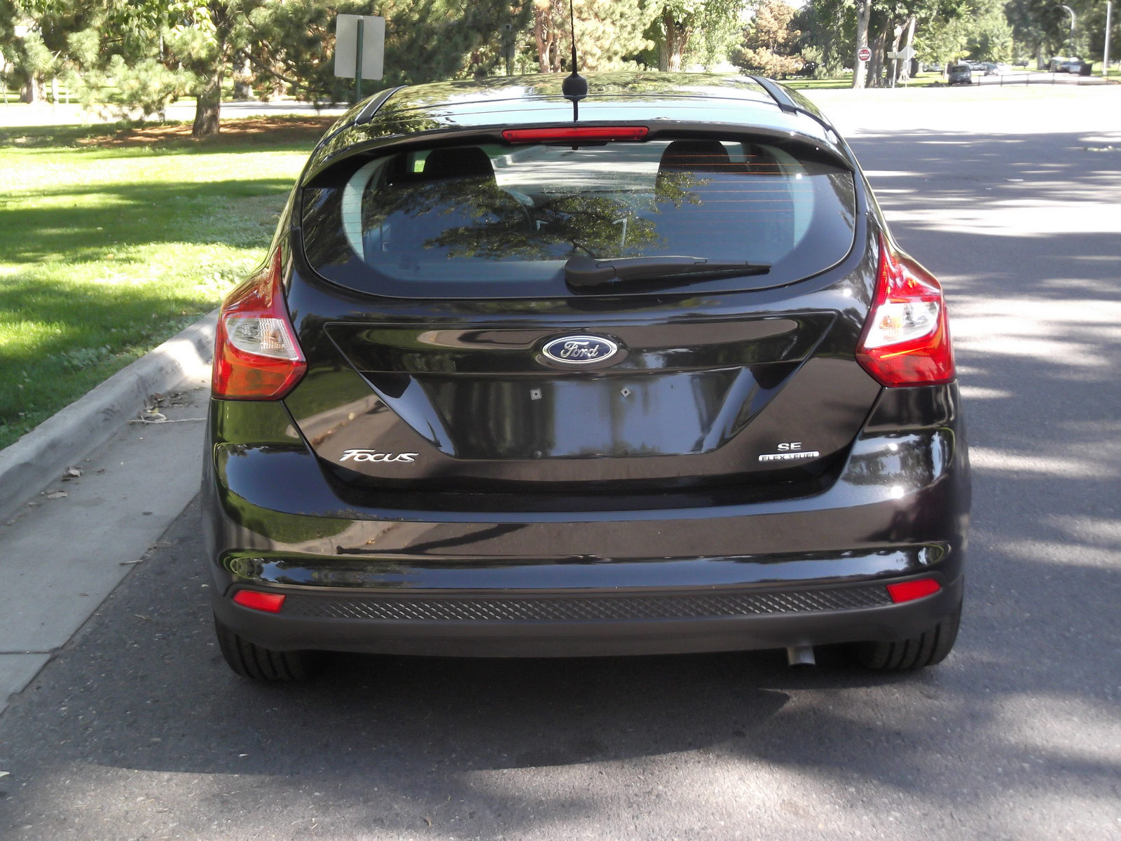 picture of 2013 ford focus se hatchback exterior. Cars Review. Best American Auto & Cars Review