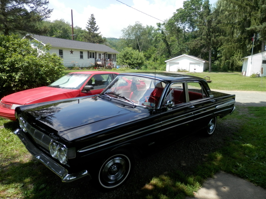 Mercury Comet Questions - How can I improve the steering