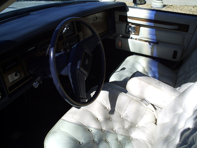 Picture of 1984 Cadillac Seville FWD, interior, gallery_worthy