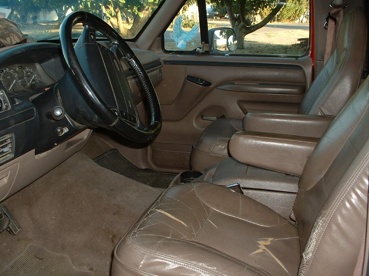 1996 Ford bronco interior trim