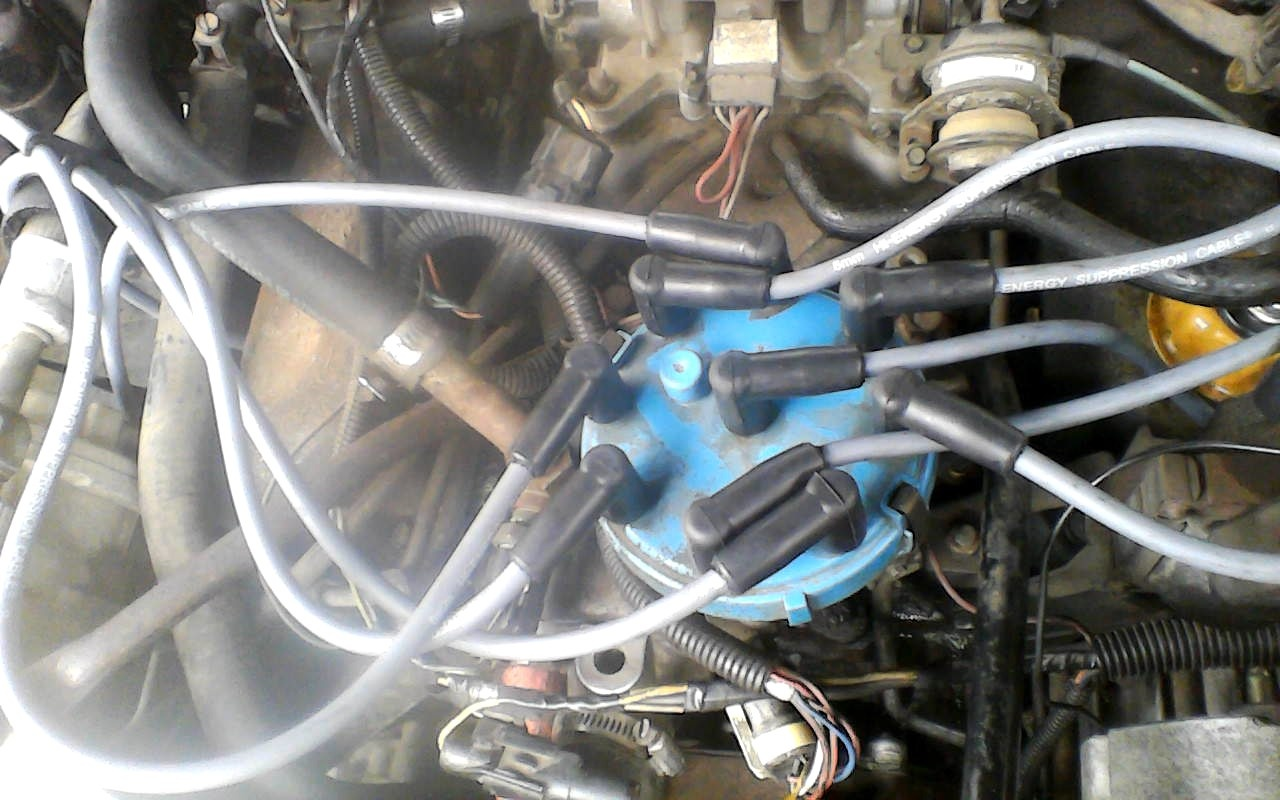 Lincoln Town Car Questions 1984 Towncar Cranks But No 87 Ford 5 0 Plug Wire Distributor Wiring 10 Answers
