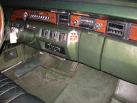 1972 Lincoln Continental picture, interior