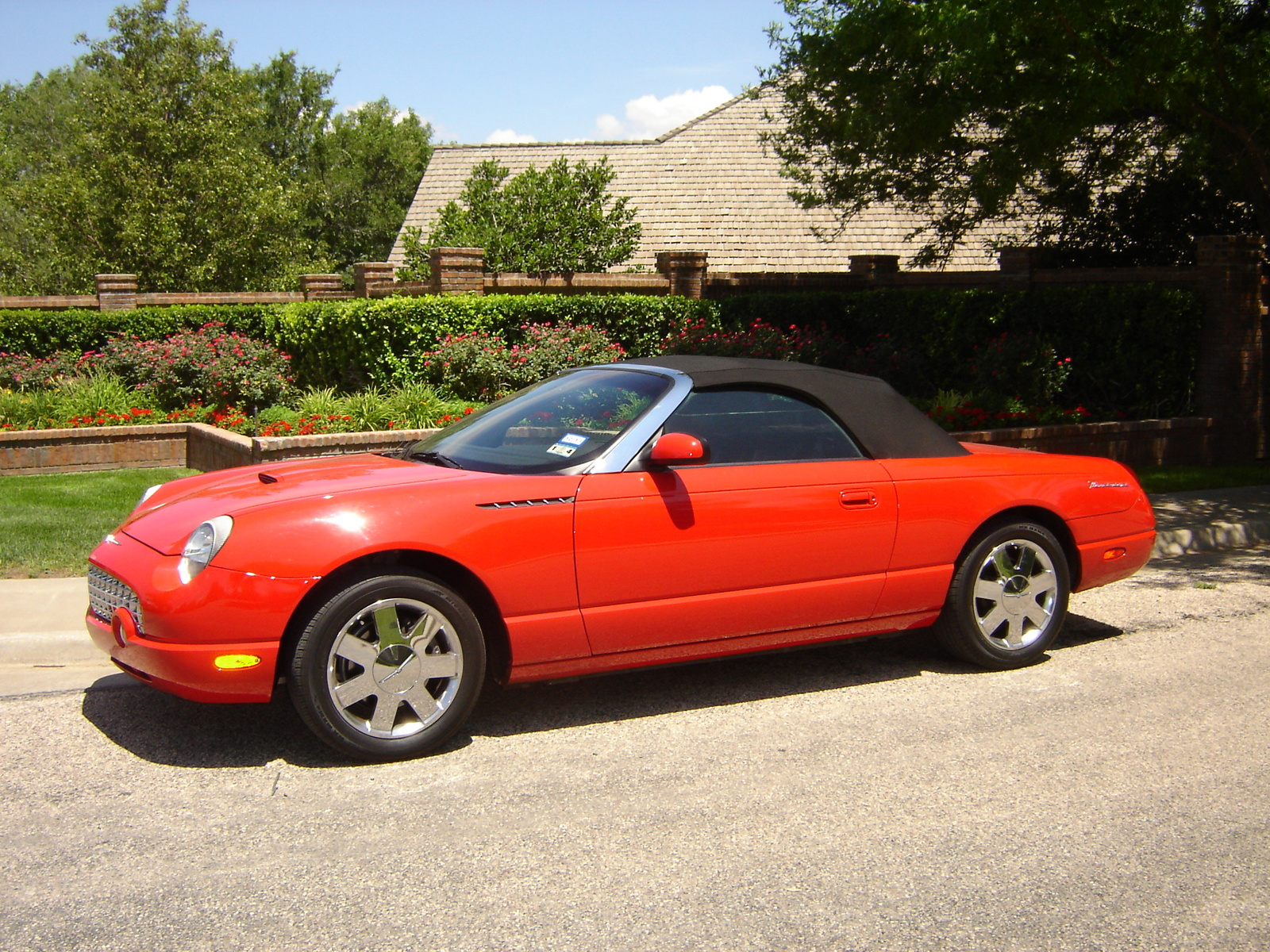 2002 ford thunderbird base convertible for sale cargurus autos post. Black Bedroom Furniture Sets. Home Design Ideas