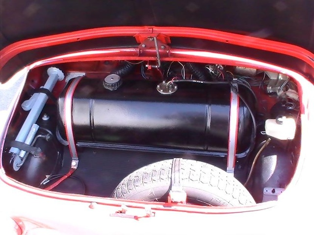 Picture of 1973 Fiat 500, engine