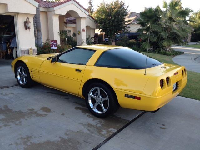 Picture of 1994 Chevrolet Corvette Coupe, exterior