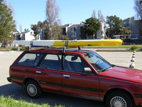 1992 Subaru Loyale 4 Dr STD 4WD Wagon, easy to load, exterior
