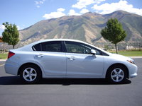 Picture of 2012 Honda Civic Natural Gas w/ Navigation, exterior