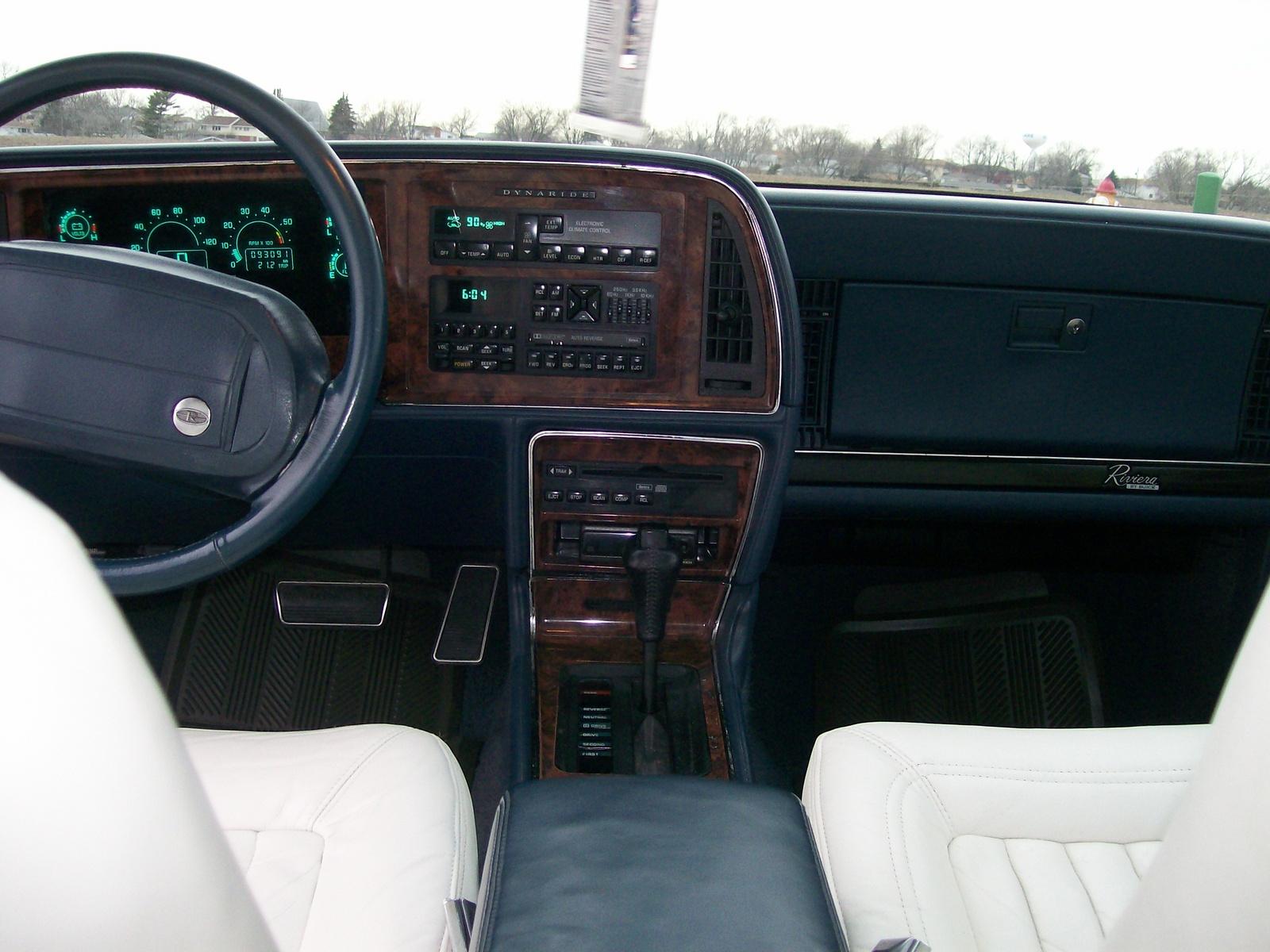 1993 Buick Riviera Interior Pictures Cargurus
