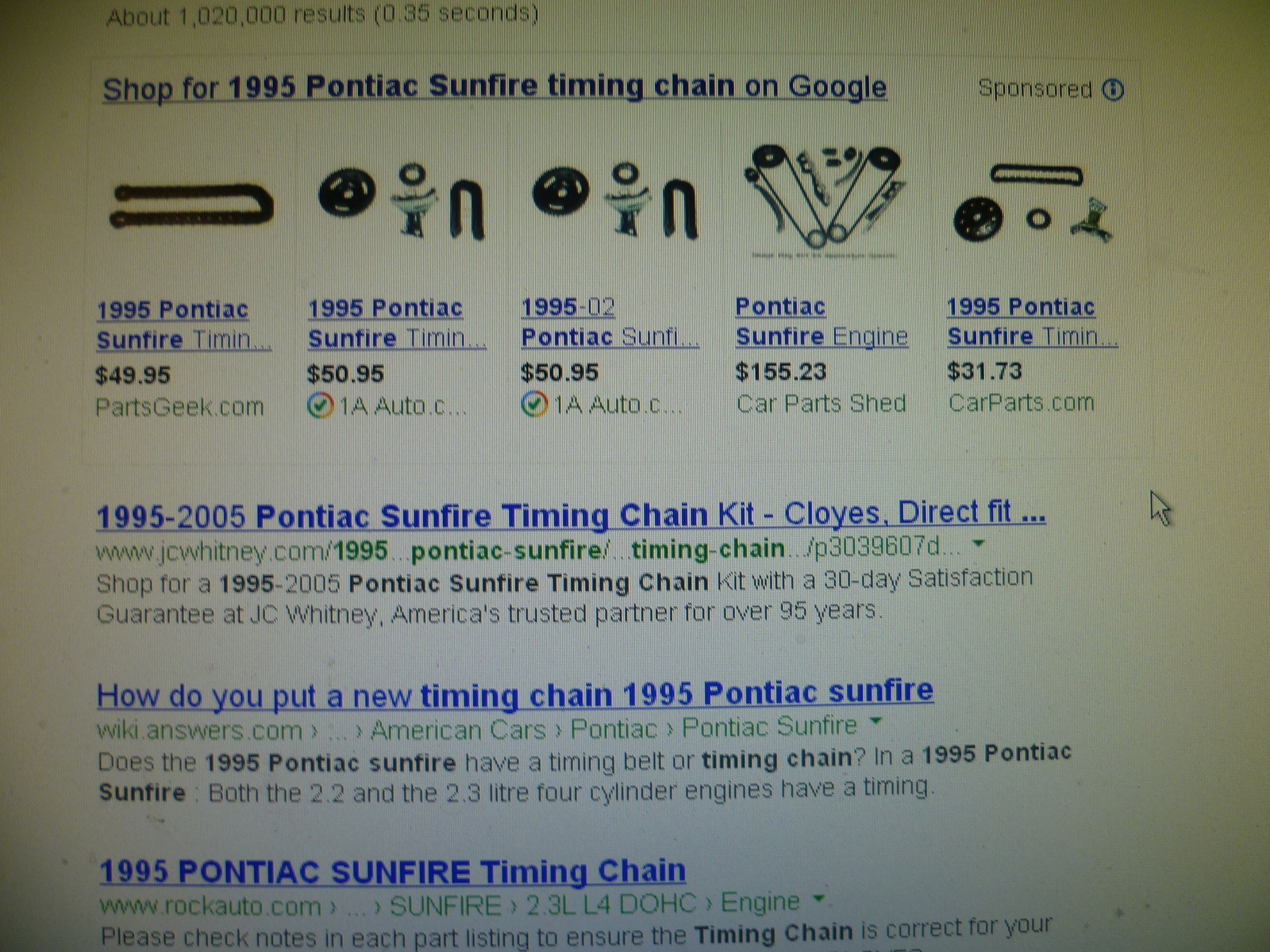 Pontiac Sunfire Questions Im Having Problems With My Car Not Timing Belt Mark Helpful