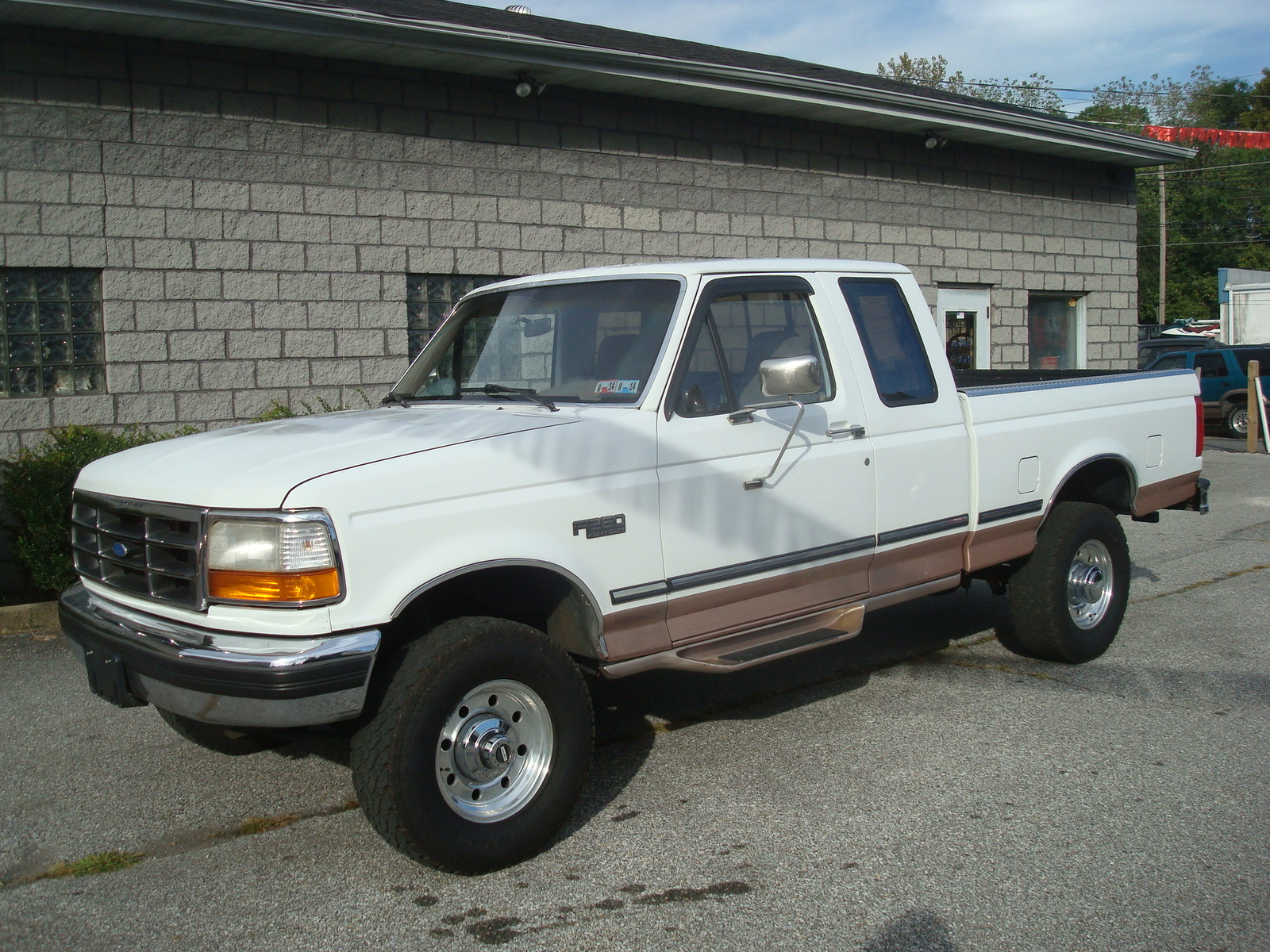 Ford F Extended Cab Long Bed Length