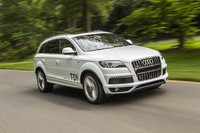 2014 Audi Q7, Front-quarter view, exterior, manufacturer